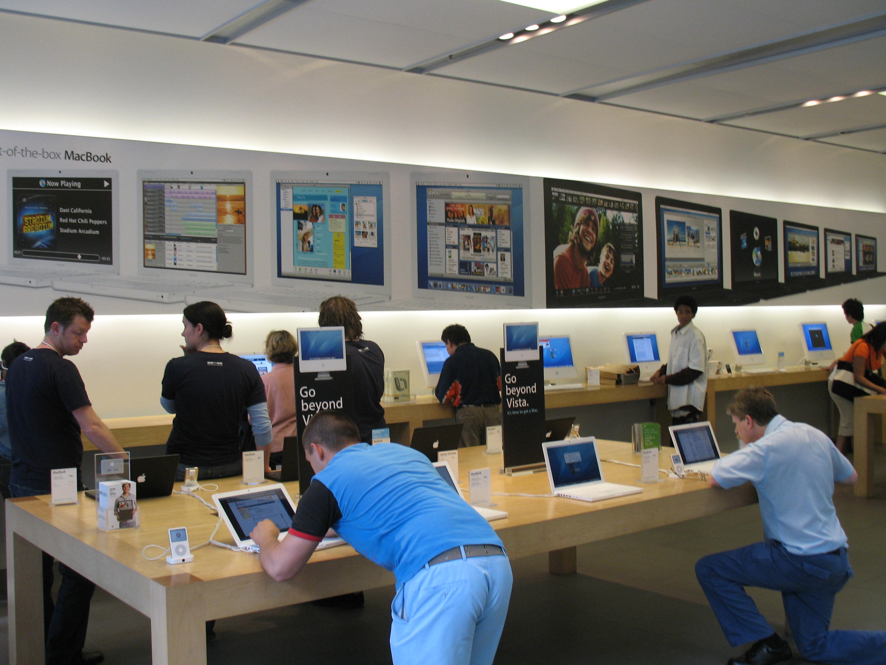 how to create account in apple store